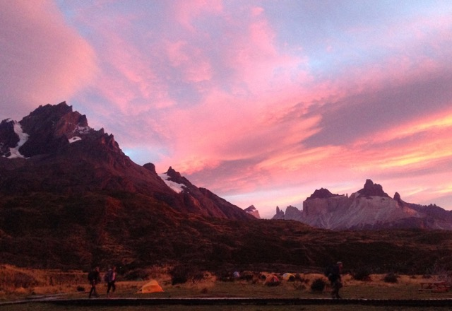 Sunrise at Paine Grande Torres del Paine.jpeg
